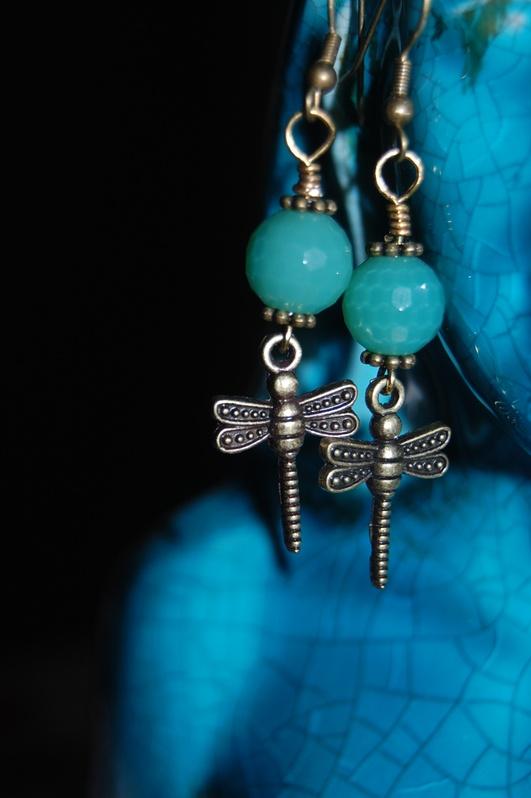 Dragon Fly Earrings - SOLD